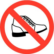 schoenenverboden